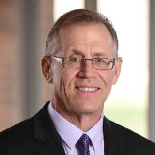 Robert Yoho, Dean of the College of Podiatric Medicine and Science at Des Moines University